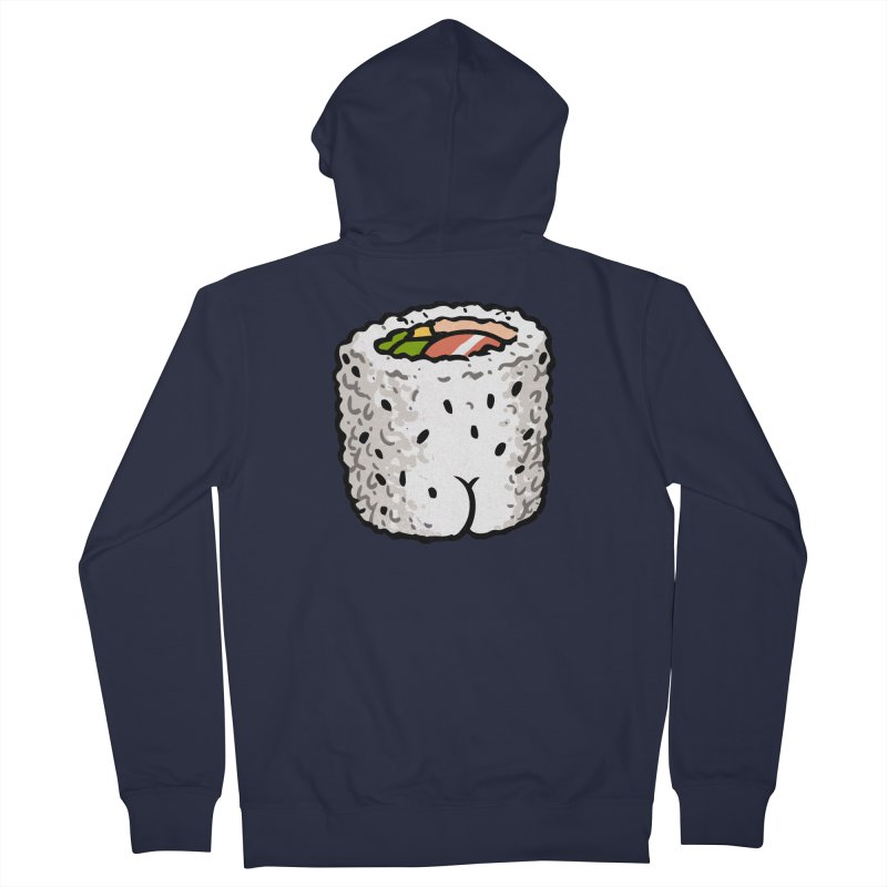 Sushi BUTT Women's Zip-Up Hoody by Brian Cook