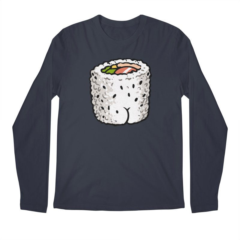 Sushi BUTT Men's Longsleeve T-Shirt by Brian Cook