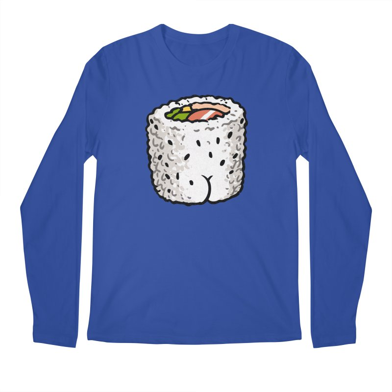 Sushi BUTT Men's Longsleeve T-Shirt by Brian Cook