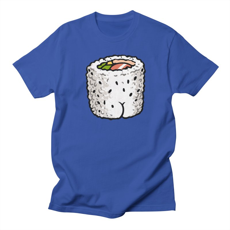 Sushi BUTT Men's T-shirt by Brian Cook