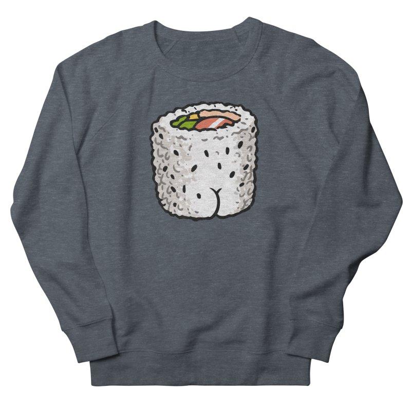 Sushi BUTT Men's Sweatshirt by Brian Cook
