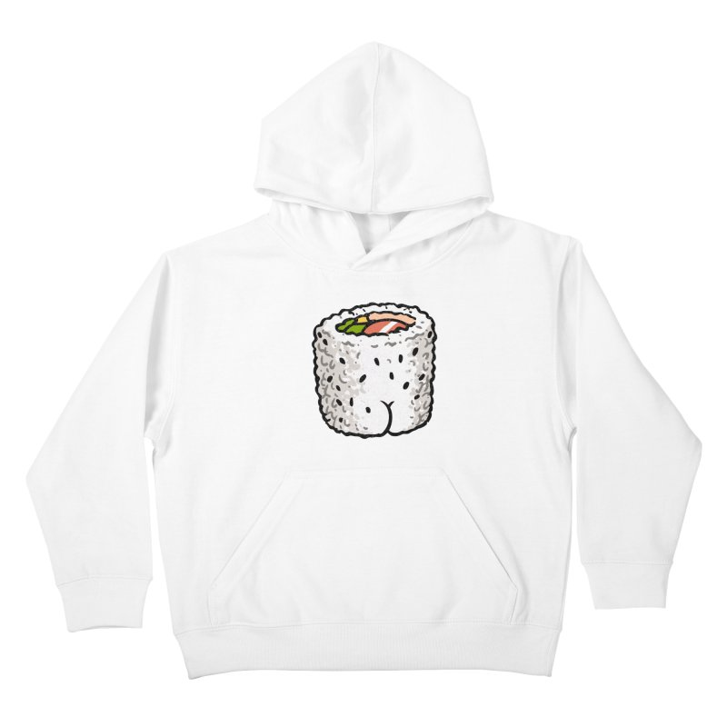Sushi BUTT Kids Pullover Hoody by Brian Cook