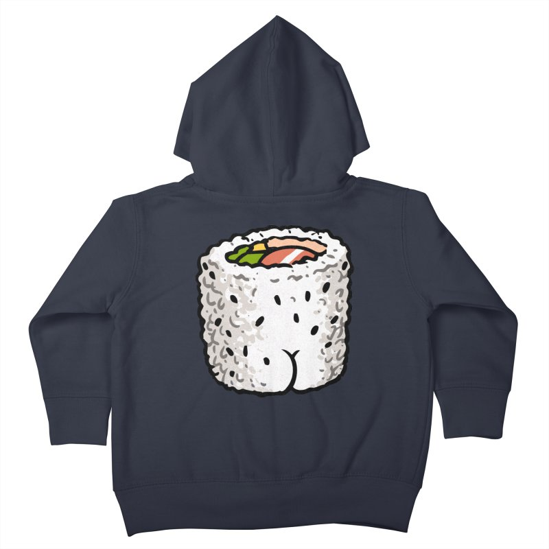 Sushi BUTT Kids Toddler Zip-Up Hoody by Brian Cook