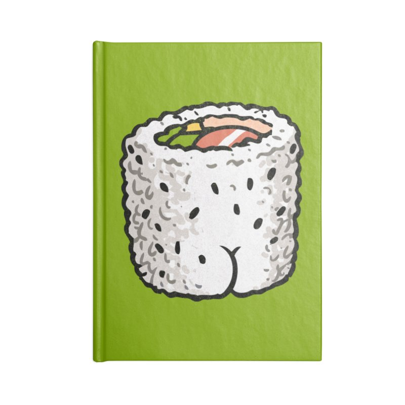 Sushi BUTT Accessories Notebook by Brian Cook
