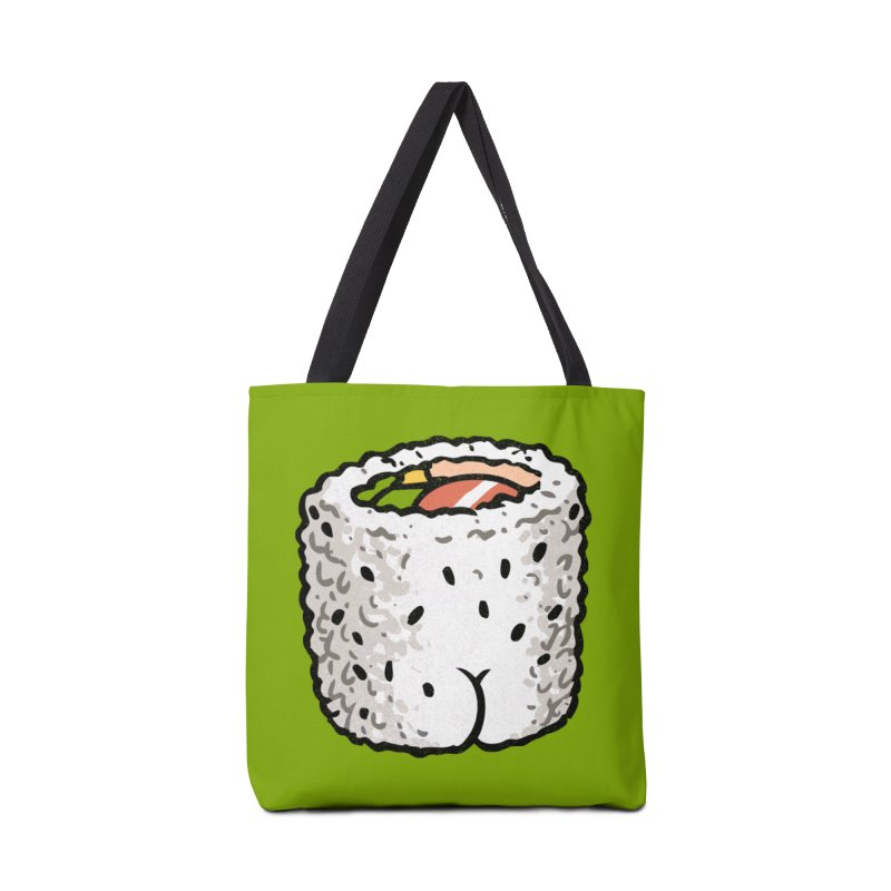 Sushi BUTT Accessories Bag by Brian Cook