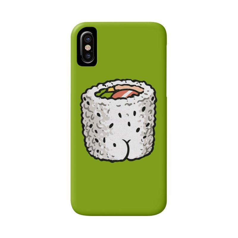 Sushi BUTT Accessories Phone Case by Brian Cook