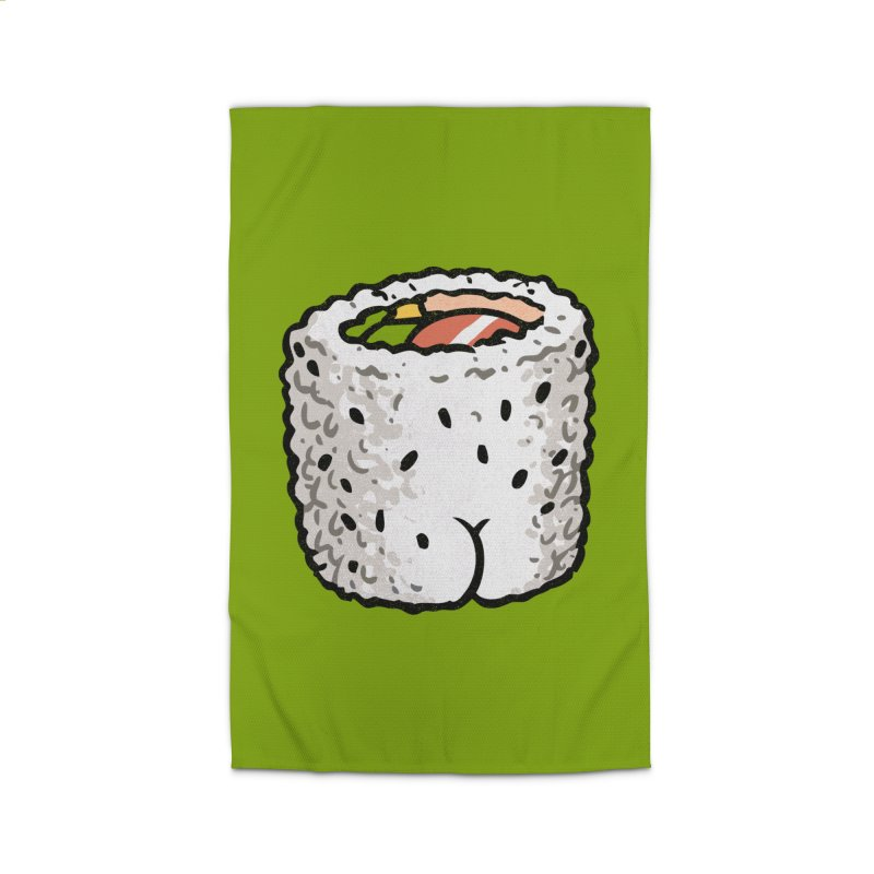 Sushi BUTT Home Rug by Brian Cook