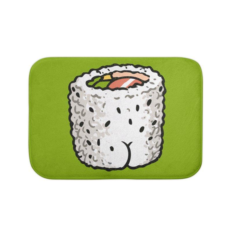 Sushi BUTT Home Bath Mat by Brian Cook