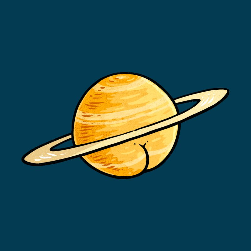 Saturn Butt by Brian Cook