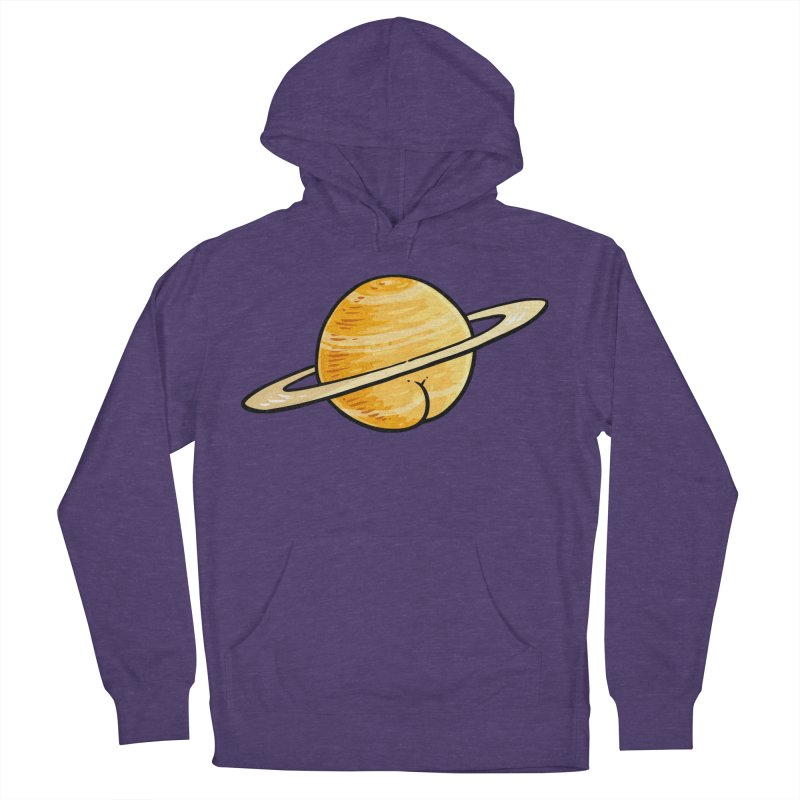 Saturn BUTT Men's Pullover Hoody by Brian Cook