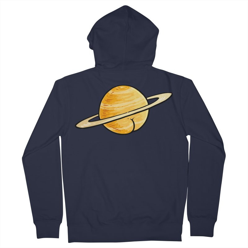 Saturn BUTT Women's Zip-Up Hoody by Brian Cook