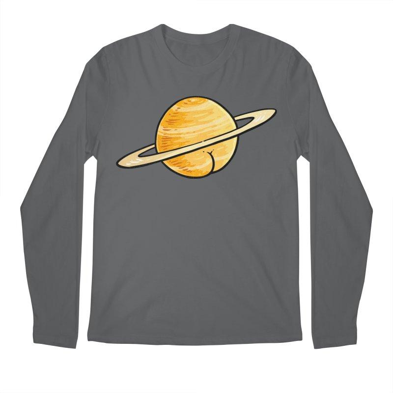 Saturn BUTT Men's Longsleeve T-Shirt by Brian Cook