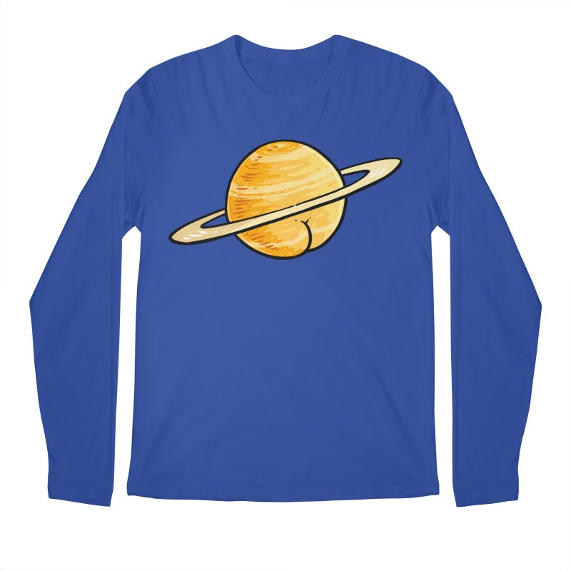 Saturn BUTT Men's Longsleeve T-Shirt by Brian Cook
