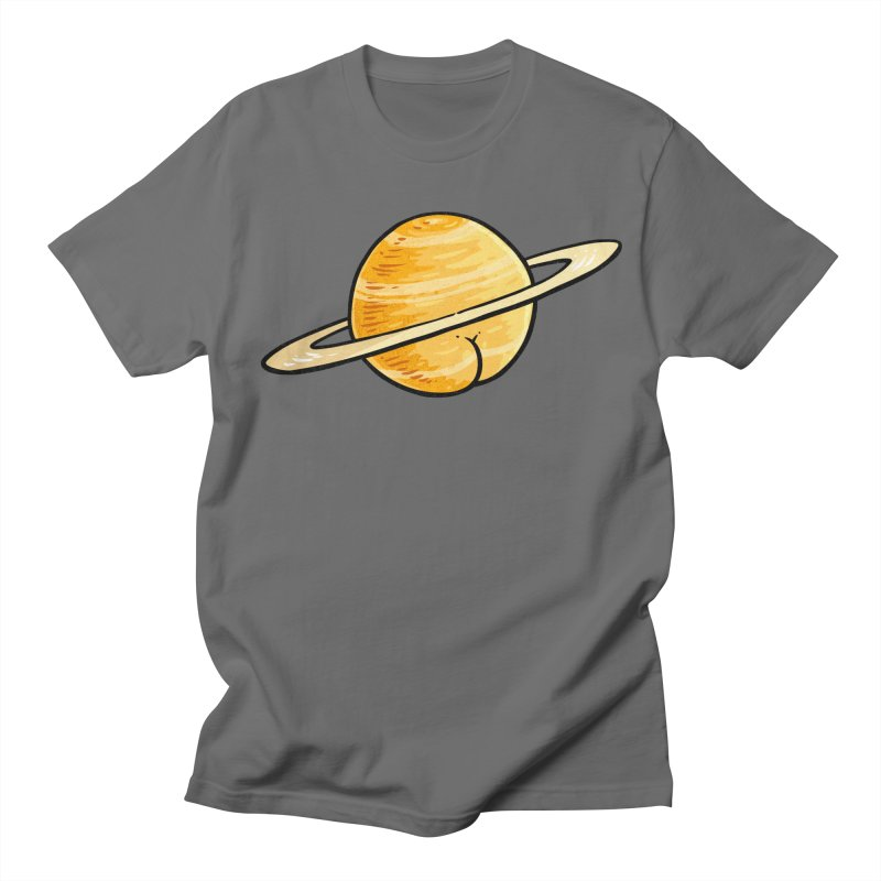 Saturn BUTT Men's T-shirt by Brian Cook