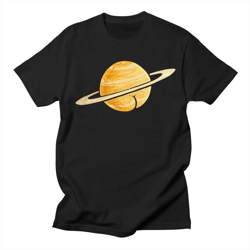 Saturn BUTT Women's Unisex T-Shirt by Brian Cook