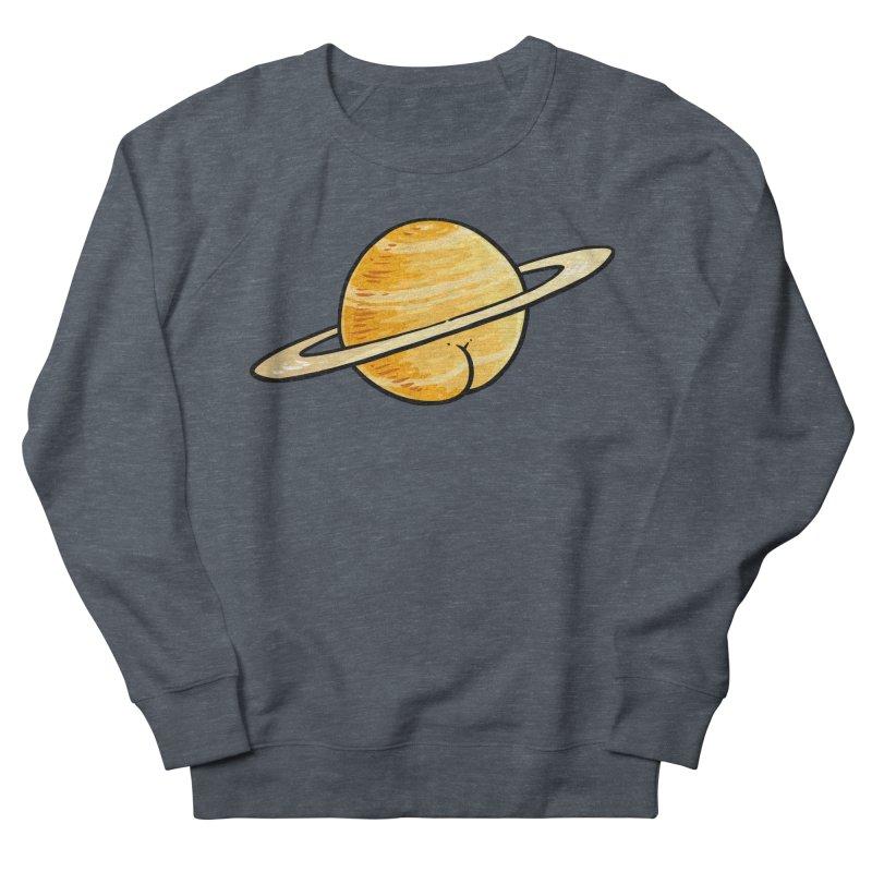 Saturn BUTT Women's Sweatshirt by Brian Cook