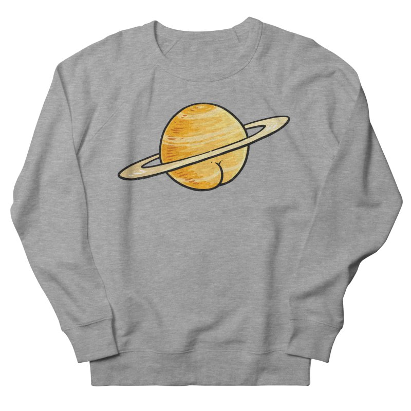 Saturn BUTT Men's Sweatshirt by Brian Cook