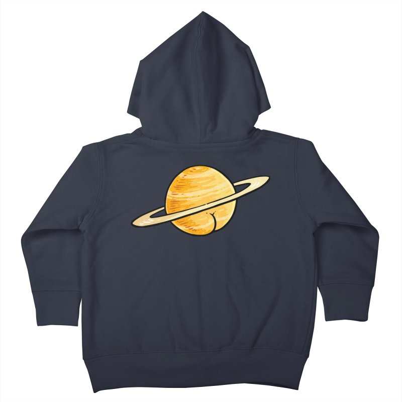 Saturn BUTT Kids Toddler Zip-Up Hoody by Brian Cook