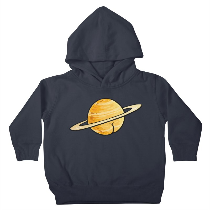 Saturn BUTT Kids Toddler Pullover Hoody by Brian Cook