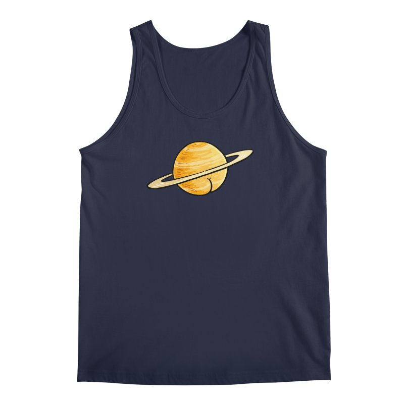 Saturn BUTT Men's Tank by Brian Cook