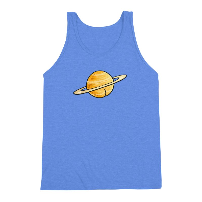 Saturn BUTT Men's Triblend Tank by Brian Cook