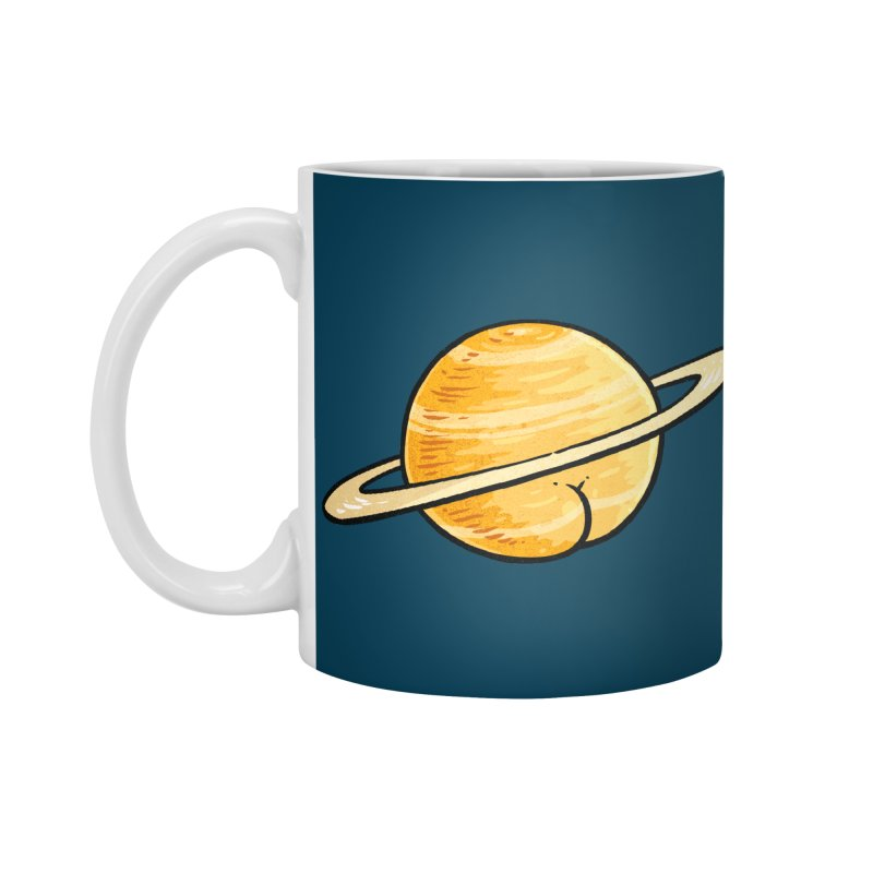Saturn BUTT Accessories Mug by Brian Cook
