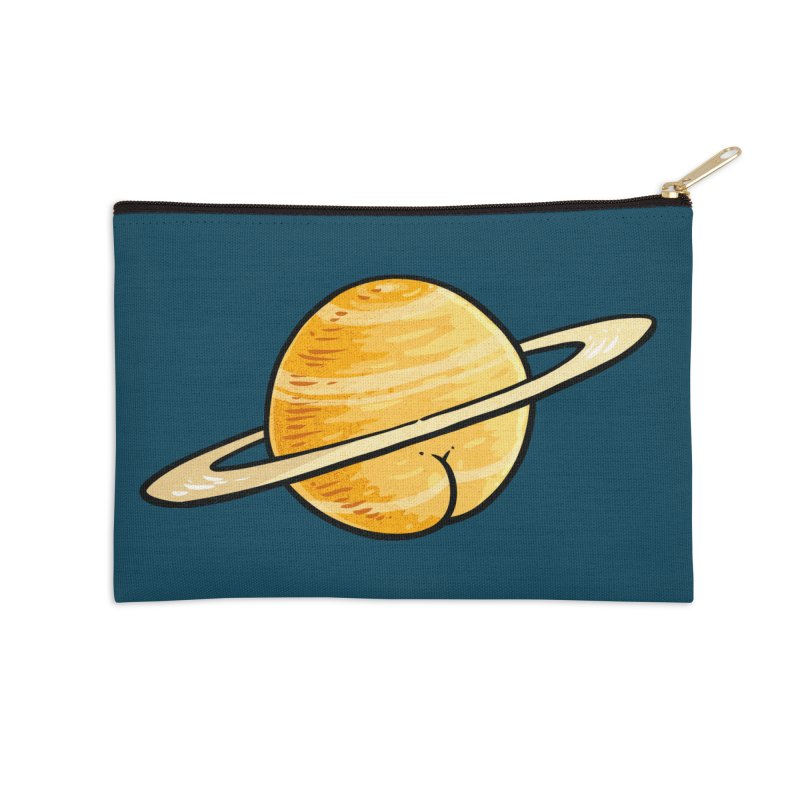 Saturn BUTT Accessories Zip Pouch by Brian Cook