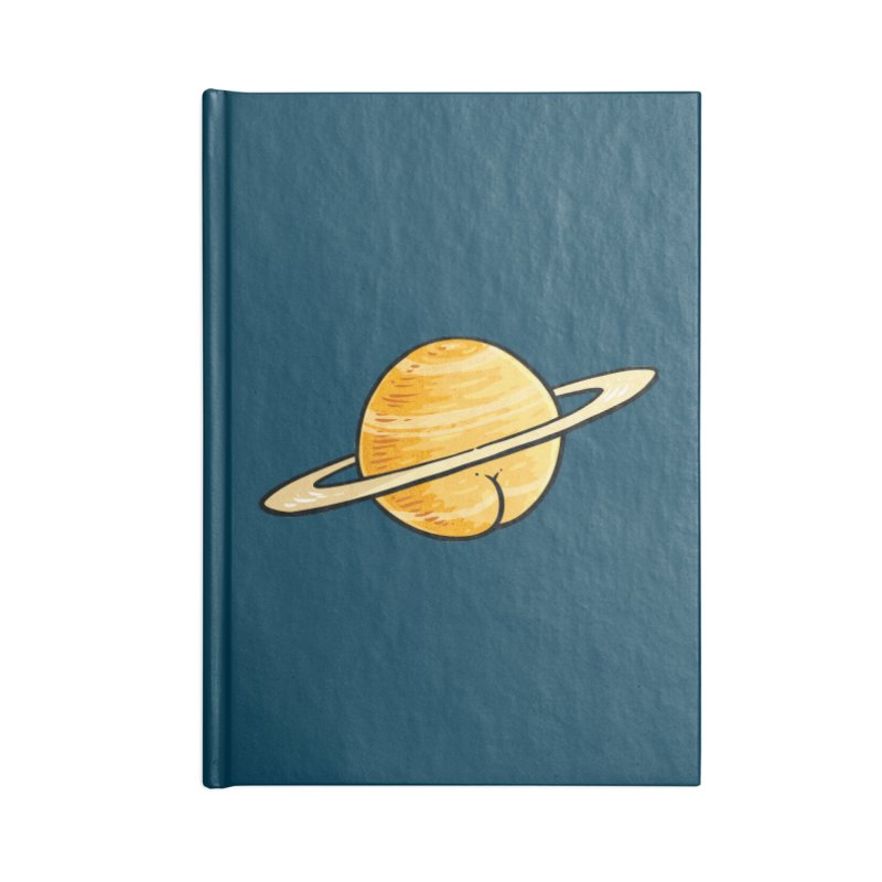 Saturn BUTT Accessories Notebook by Brian Cook