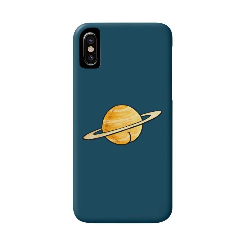 Saturn BUTT Accessories Phone Case by Brian Cook