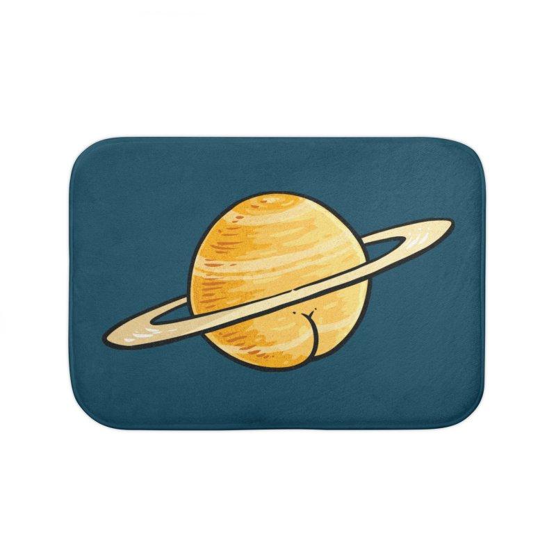 Saturn BUTT Home Bath Mat by Brian Cook