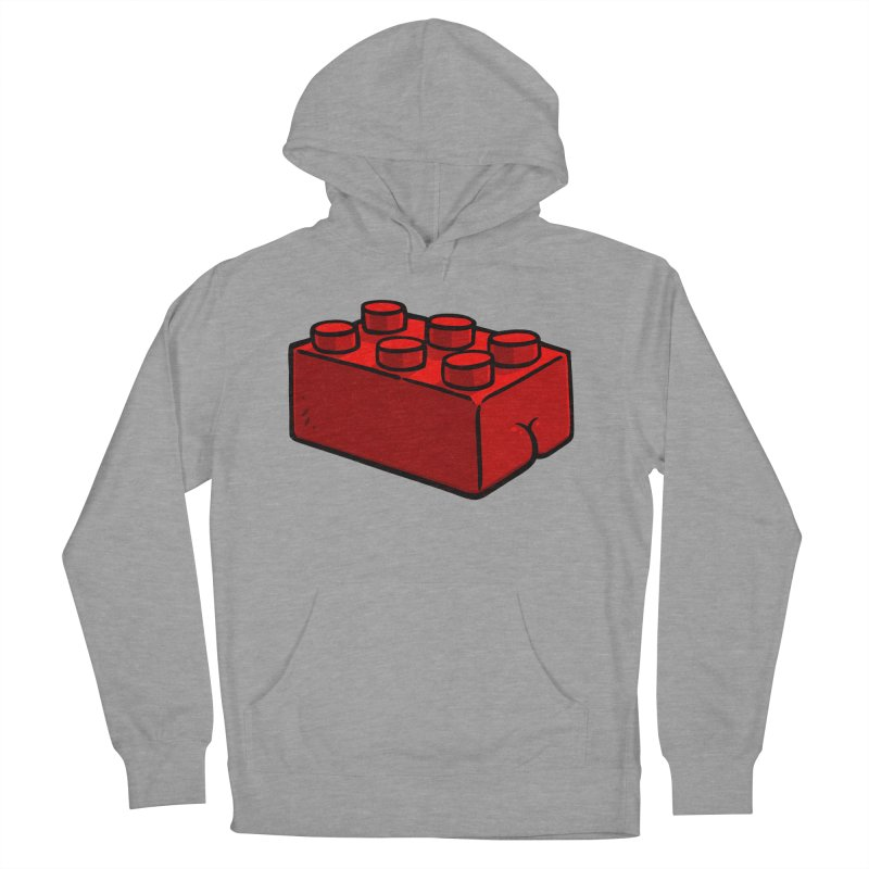Building Block BUTT Women's Pullover Hoody by Brian Cook