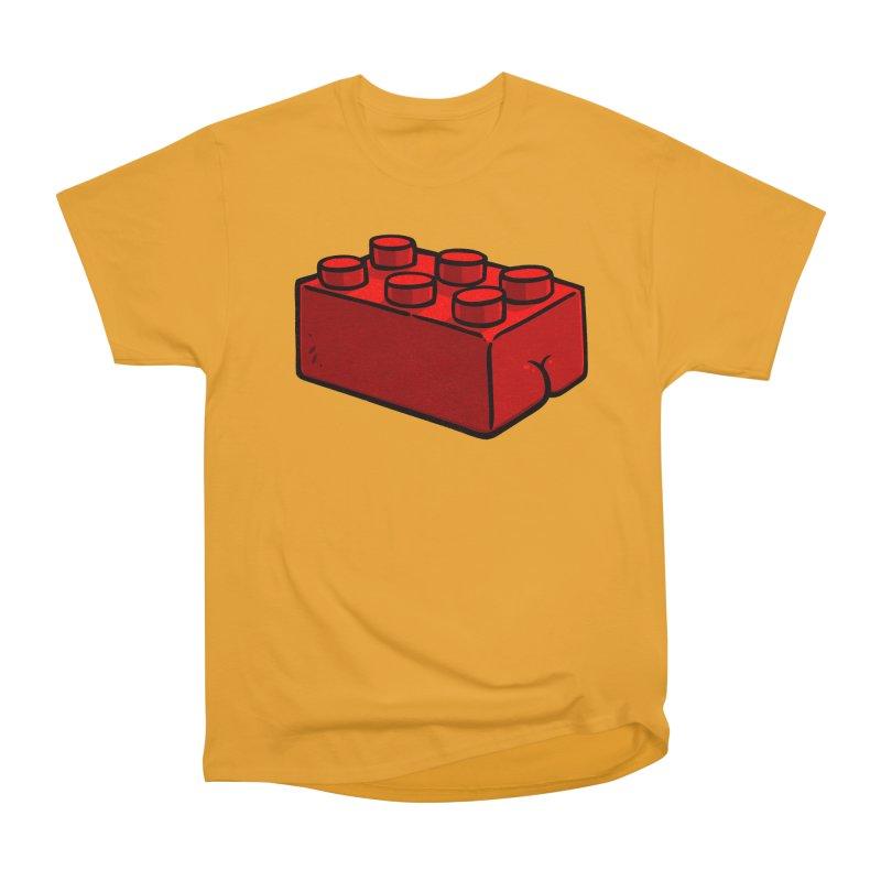 Building Block BUTT Women's Classic Unisex T-Shirt by Brian Cook