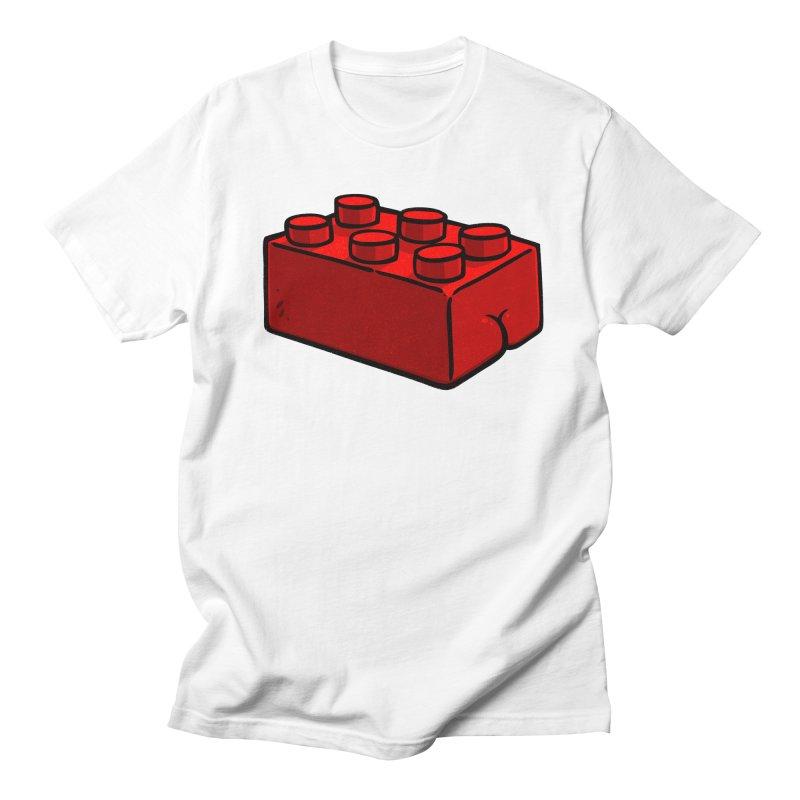Building Block BUTT Men's T-shirt by Brian Cook