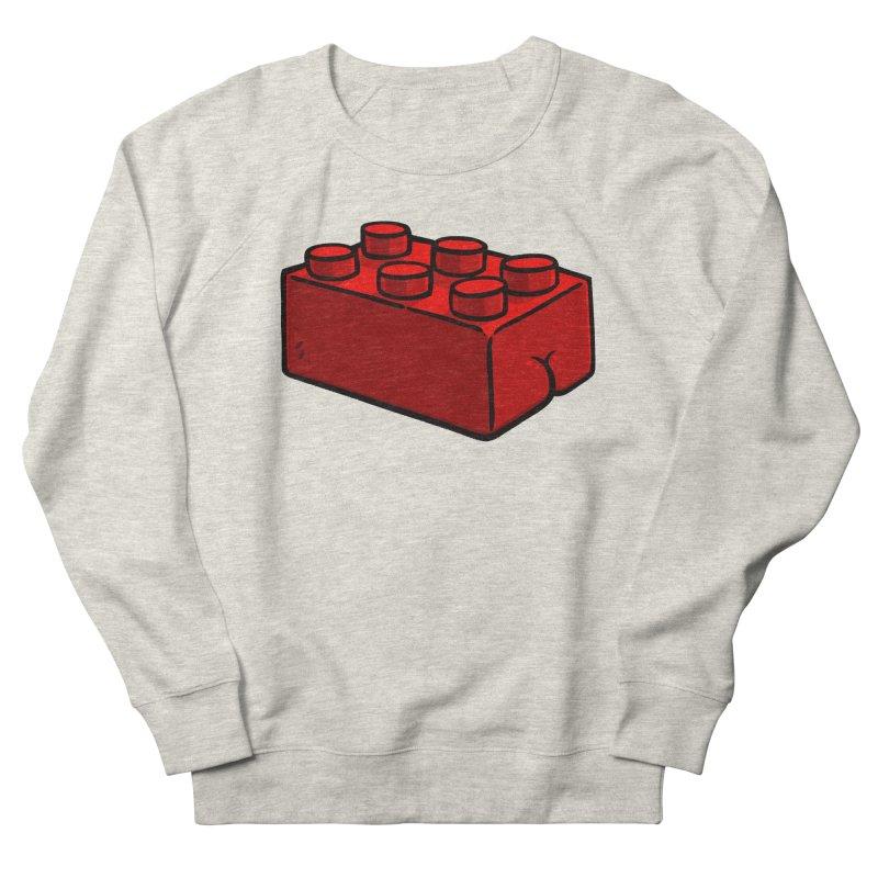 Building Block BUTT Women's Sweatshirt by Brian Cook