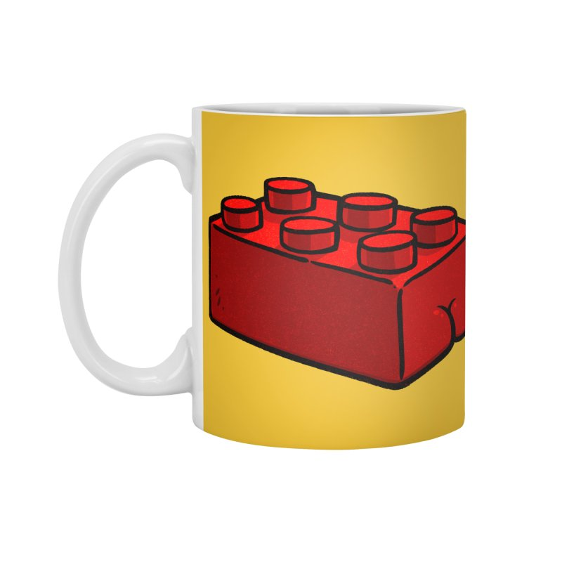 Building Block BUTT Accessories Mug by Brian Cook