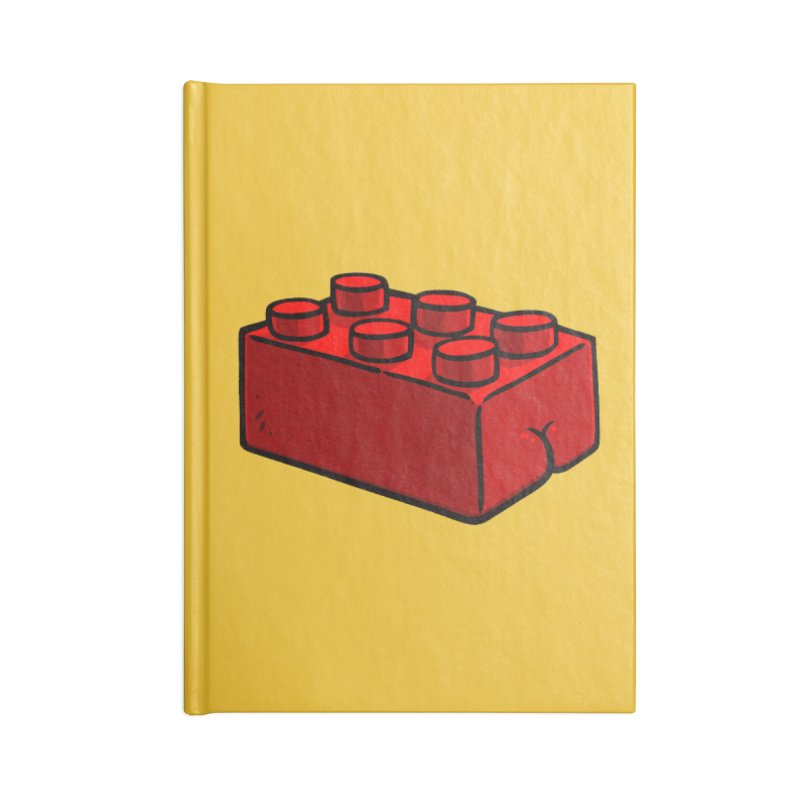 Building Block BUTT Accessories Notebook by Brian Cook