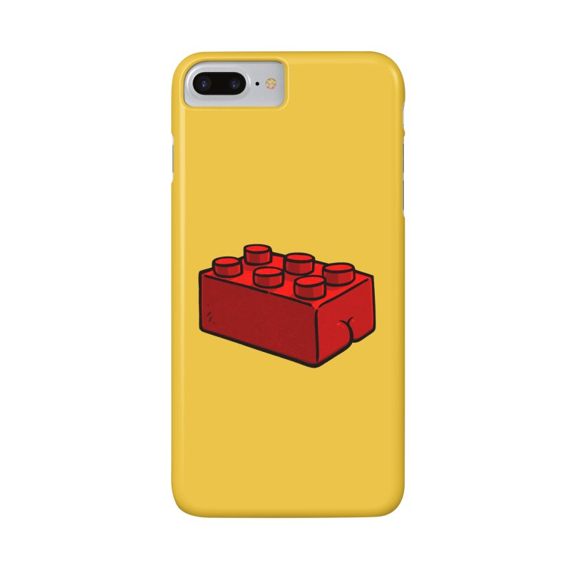 Building Block BUTT Accessories Phone Case by Brian Cook