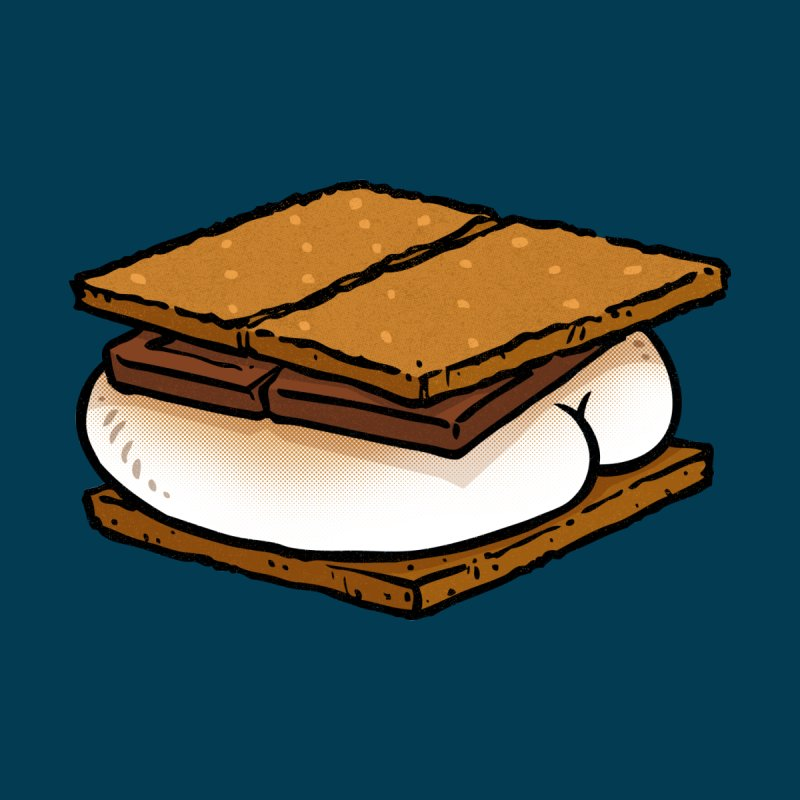 S'more BUTT by Brian Cook