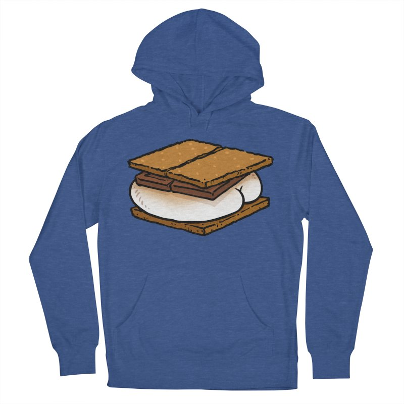 S'more BUTT Men's Pullover Hoody by Brian Cook
