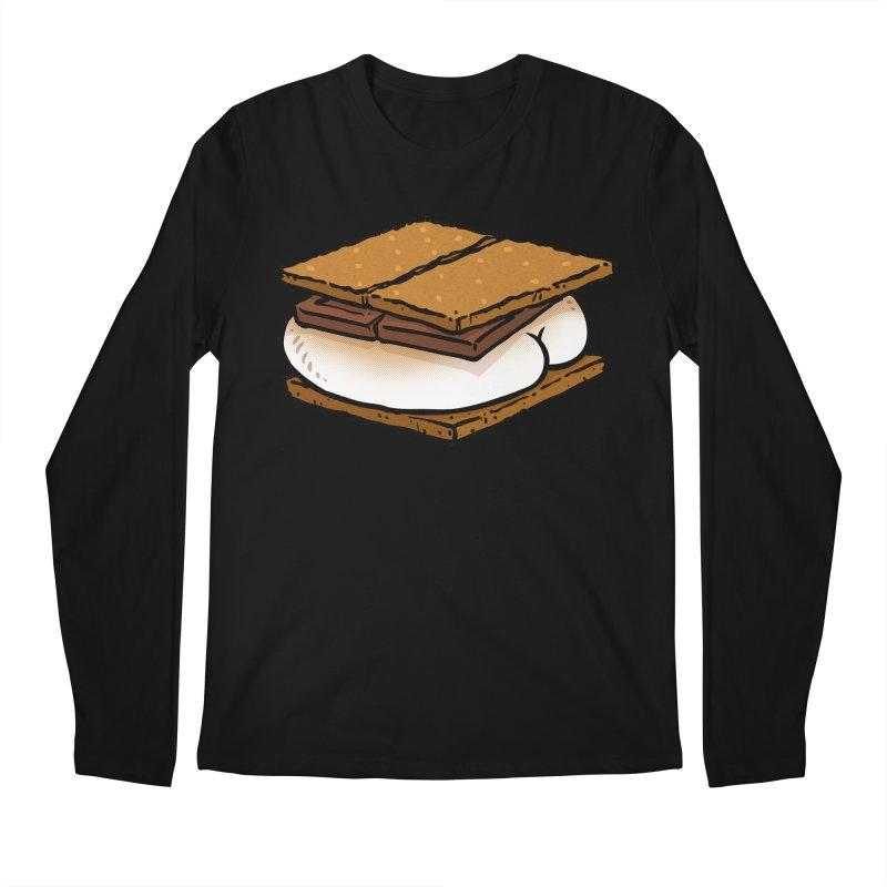 S'more BUTT Men's Longsleeve T-Shirt by Brian Cook