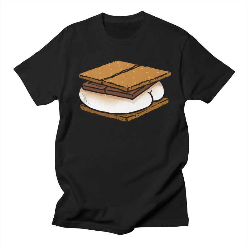 S'more BUTT Men's T-shirt by Brian Cook