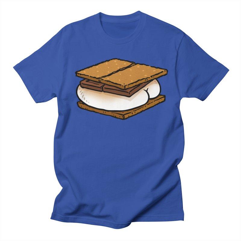 S'more BUTT Women's Unisex T-Shirt by Brian Cook