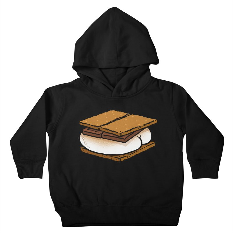 S'more BUTT Kids Toddler Pullover Hoody by Brian Cook