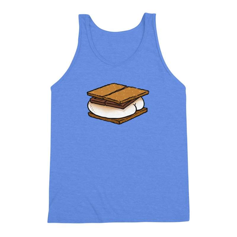 S'more BUTT Men's Triblend Tank by Brian Cook