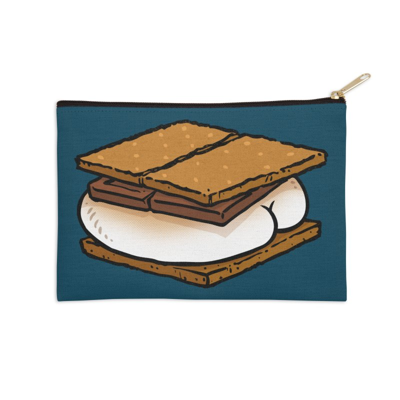 S'more BUTT Accessories Zip Pouch by Brian Cook