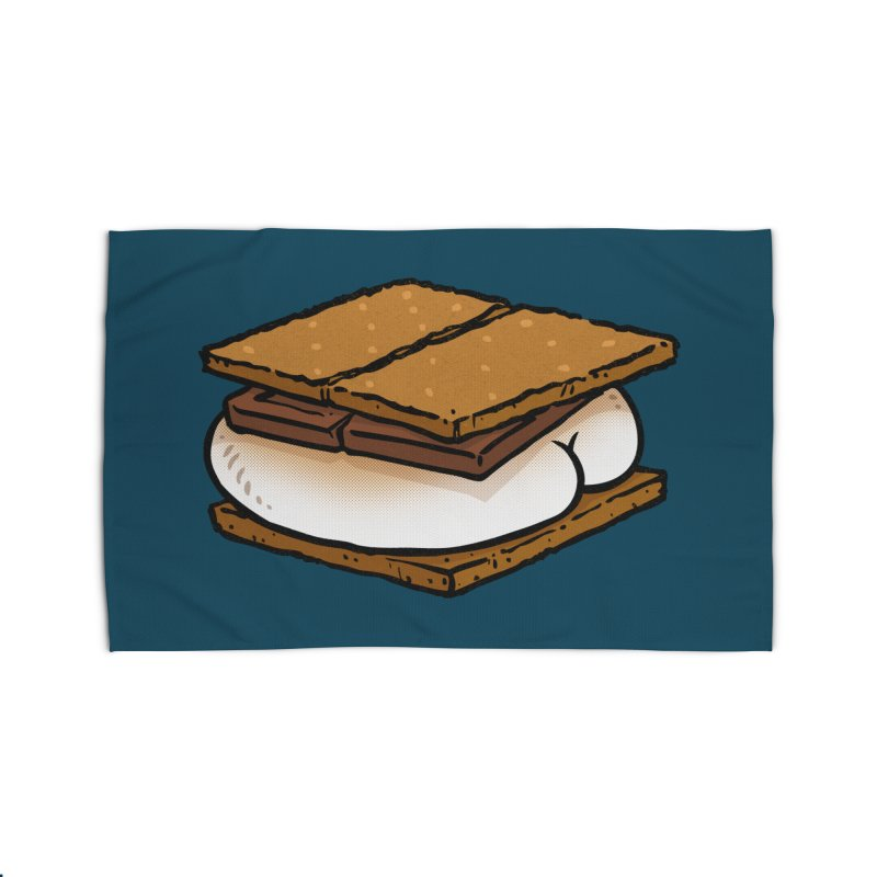 S'more BUTT Home Rug by Brian Cook