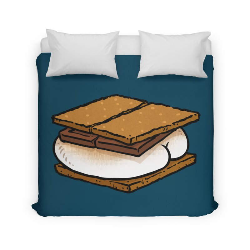 S'more BUTT Home Duvet by Brian Cook