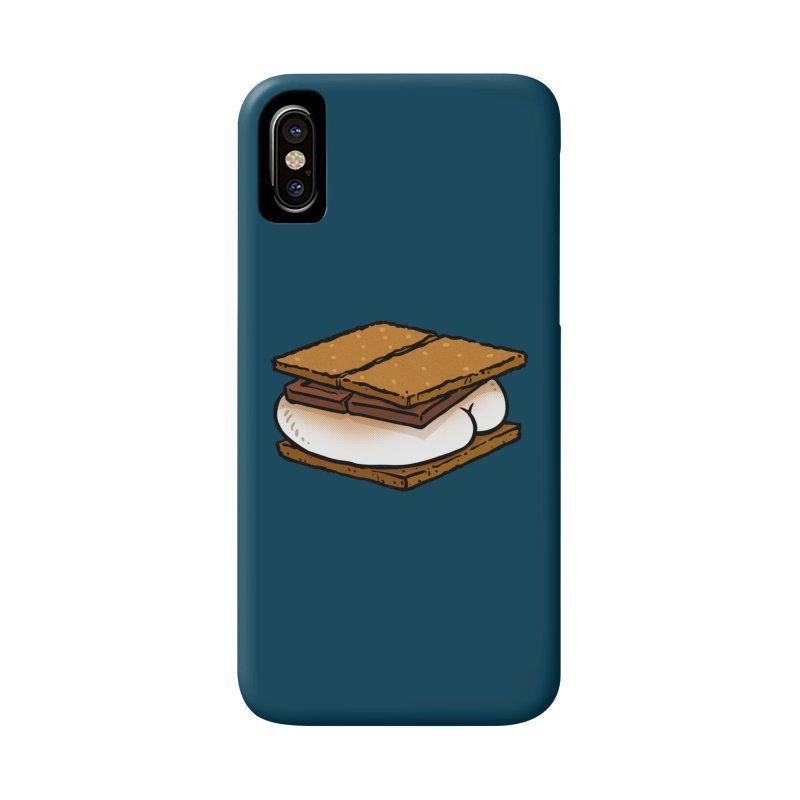 S'more BUTT Accessories Phone Case by Brian Cook