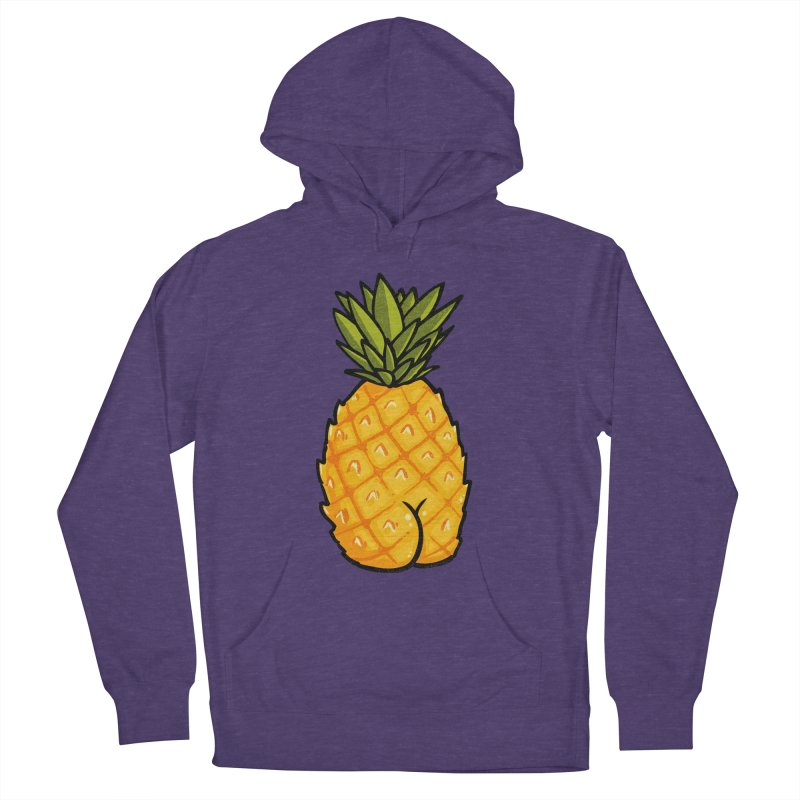 Pineapple BUTT Women's Pullover Hoody by Brian Cook