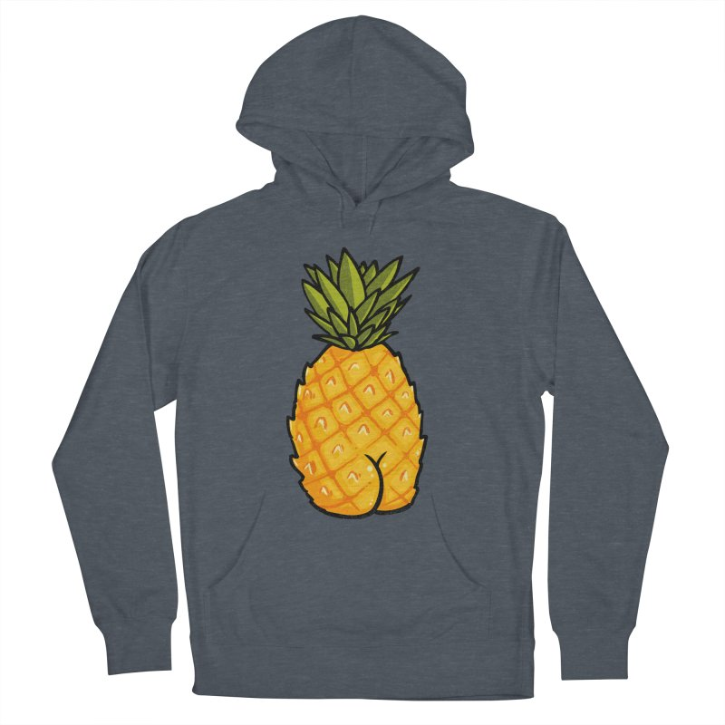 Pineapple BUTT Men's Pullover Hoody by Brian Cook